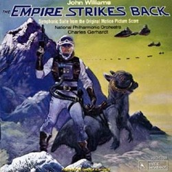The Empire Strikes Back Soundtrack (John Williams) - CD cover