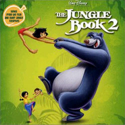 The Jungle Book 2 Soundtrack (Various Artists) - CD cover