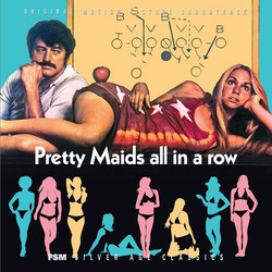 Pretty Maids All in a Row Soundtrack (Lalo Schifrin) - Carátula