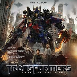 Transformers: Dark of the Moon 聲帶 (Various Artists) - CD封面
