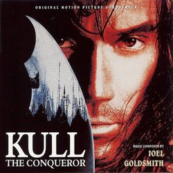 Kull the Conqueror Soundtrack (Joel Goldsmith) - CD cover