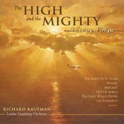 The High and the Mighty Soundtrack (Various Artists) - CD cover