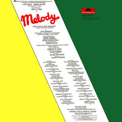 Melody Soundtrack (Various Artists, The Bee Gees, Richard Hewson) - CD-Rückdeckel