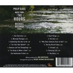 The Hours 聲帶 (Philip Glass) - CD後蓋