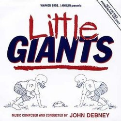 Little Giants Soundtrack (John Debney) - CD cover