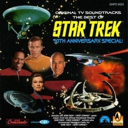 The Best of Star Trek Bande Originale (Jay Chattaway, Alexander Courage, Jerry Fielding, Jerry Goldsmith, Ron Jones, Dennis McCarthy) - Pochettes de CD