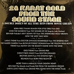 24 Karat Gold from the Sound Stage Μουσική υπόκρουση (Various Artists, Various Artists) - CD πίσω κάλυμμα