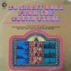 24 Karat Gold from the Sound Stage Μουσική υπόκρουση (Various Artists, Various Artists) - Κάλυμμα CD