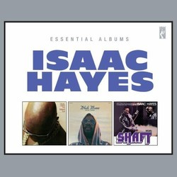 Essential Albums: Hot Buttered Soul/Black Moses/Shaft Soundtrack (Isaac Hayes) - Carátula