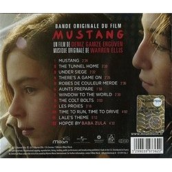 Mustang Soundtrack (Warren Ellis) - CD Back cover