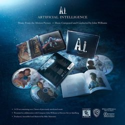 A.I. Artificial Intelligence Bande Originale (John Williams) - cd-inlay
