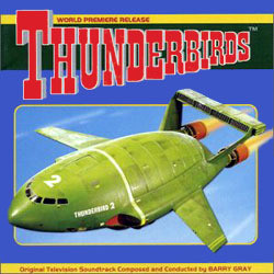 Thunderbirds 声带 (Barry Gray) - CD封面
