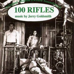 100 Rifles Soundtrack (Jerry Goldsmith) - Carátula