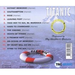 Titanic 声带 (Ray Hamilton Orchestra, James Horner) - CD后盖