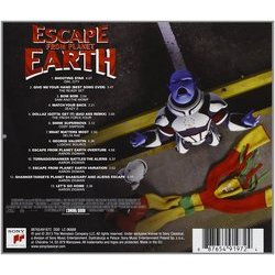 Escape from Planet Earth Soundtrack (Various Artists, Aaron Zigman) - CD Back cover
