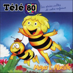 Maya l'Abeille Soundtrack (Various Artists, Karel Svoboda) - CD cover