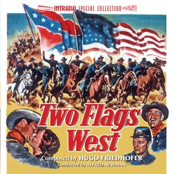 Two Flags West / North to Alaska Soundtrack (Hugo Friedhofer, Lionel Newman) - CD-Cover