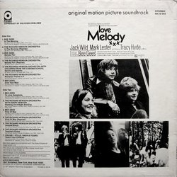 Melody 声带 (Various Artists, The Bee Gees, Richard Hewson) - CD后盖