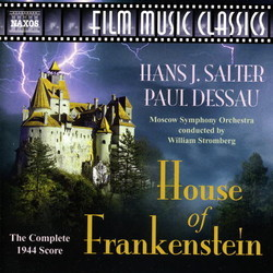 House of Frankenstein Bande Originale (Paul Dessau, Hans J. Salter) - Pochettes de CD