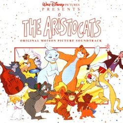 The AristoCats Soundtrack (George Bruns, Richard M. Sherman, Robert B. Sherman) - CD-Cover