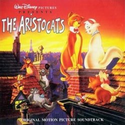 The AristoCats Soundtrack (Robert B. Sherman, George Bruns, Richard M. Sherman) - CD-Cover
