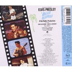 Blue Hawaii サウンドトラック (Joseph J. Lilley, Elvis Presley) - CD裏表紙