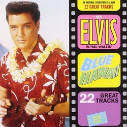 Blue Hawaii サウンドトラック (Joseph J. Lilley, Elvis Presley) - CDカバー