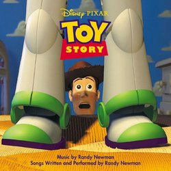 Toy Story Soundtrack (Randy Newman) - CD cover