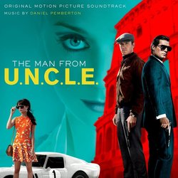 The Man From U.N.C.L.E. Bande Originale (Daniel Pemberton) - Pochettes de CD