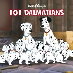 101 Dalmatians 聲帶 (Various Artists, George Bruns) - CD封面