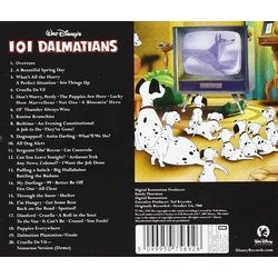 101 Dalmatians 聲帶 (Various Artists, George Bruns) - CD後蓋