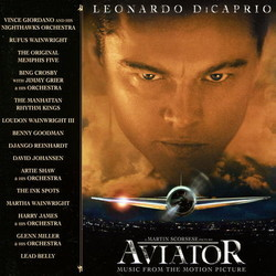 The Aviator Soundtrack (Various Artists) - CD cover
