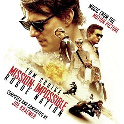 Mission: Impossible Rogue Nation Trilha sonora (Joe Kraemer) - capa de CD