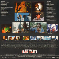 Bad Taste Soundtrack (Various Artists) - CD Trasero