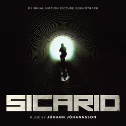 Sicario Soundtrack (Johann Johannsson) - CD cover