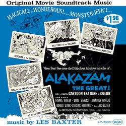 Alakazam the Great Soundtrack (Les Baxter) - CD cover