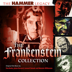 The Hammer Legacy - The Frankenstein Collection Soundtrack (Various Artists) - CD cover