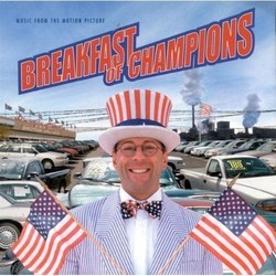 Breakfast of Champions Soundtrack (Mark Isham) - CD cover