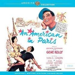 An American In Paris 聲帶 (George Gershwin, Ira Gershwin) - CD封面
