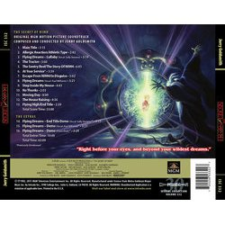 The Secret of NIMH Bande Originale (Jerry Goldsmith) - CD Arrière