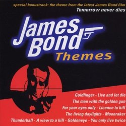 James Bond Themes Μουσική υπόκρουση (Various Artists, John Barry, Bill Conti, Marvin Hamlisch) - Κάλυμμα CD