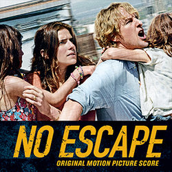No Escape Soundtrack (Marco Beltrami, Buck Sanders) - CD-Cover