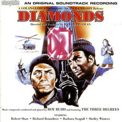 Diamonds Soundtrack (Roy Budd) - CD cover