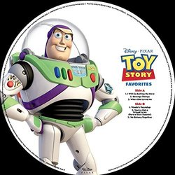 Toy Story Favourites Soundtrack (Randy Newman) - CD cover
