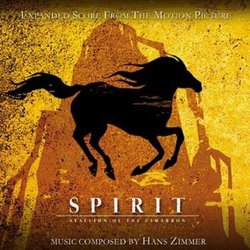 Spirit: Stallion of the Cimarron Bande Originale (Hans Zimmer) - Pochettes de CD
