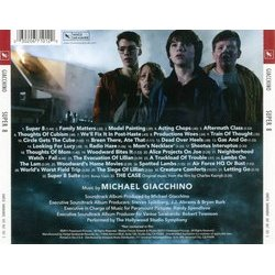 Super 8 Soundtrack (Michael Giacchino) - CD Trasero
