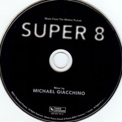 Super 8 Soundtrack (Michael Giacchino) - cd-car�tula