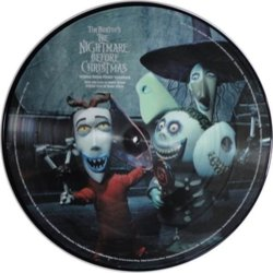 The Nightmare Before Christmas Soundtrack (Danny Elfman) - cd-carátula