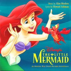 The Little Mermaid Soundtrack (Various Artists, Alan Menken) - CD cover
