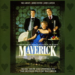 Maverick Soundtrack (Various Artists, Randy Newman) - Carátula